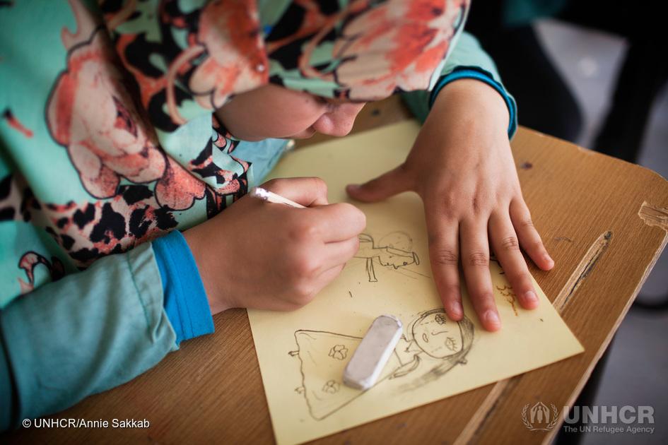 Photo: UNHCR / Annie Sakkab