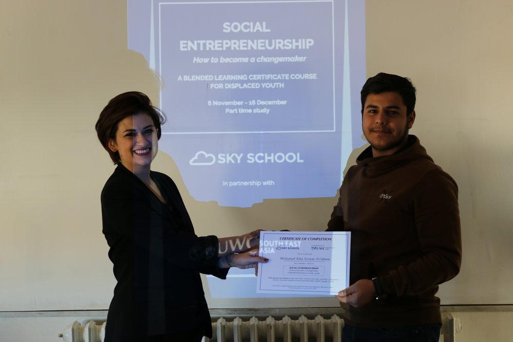 Sky School Jordan Hub