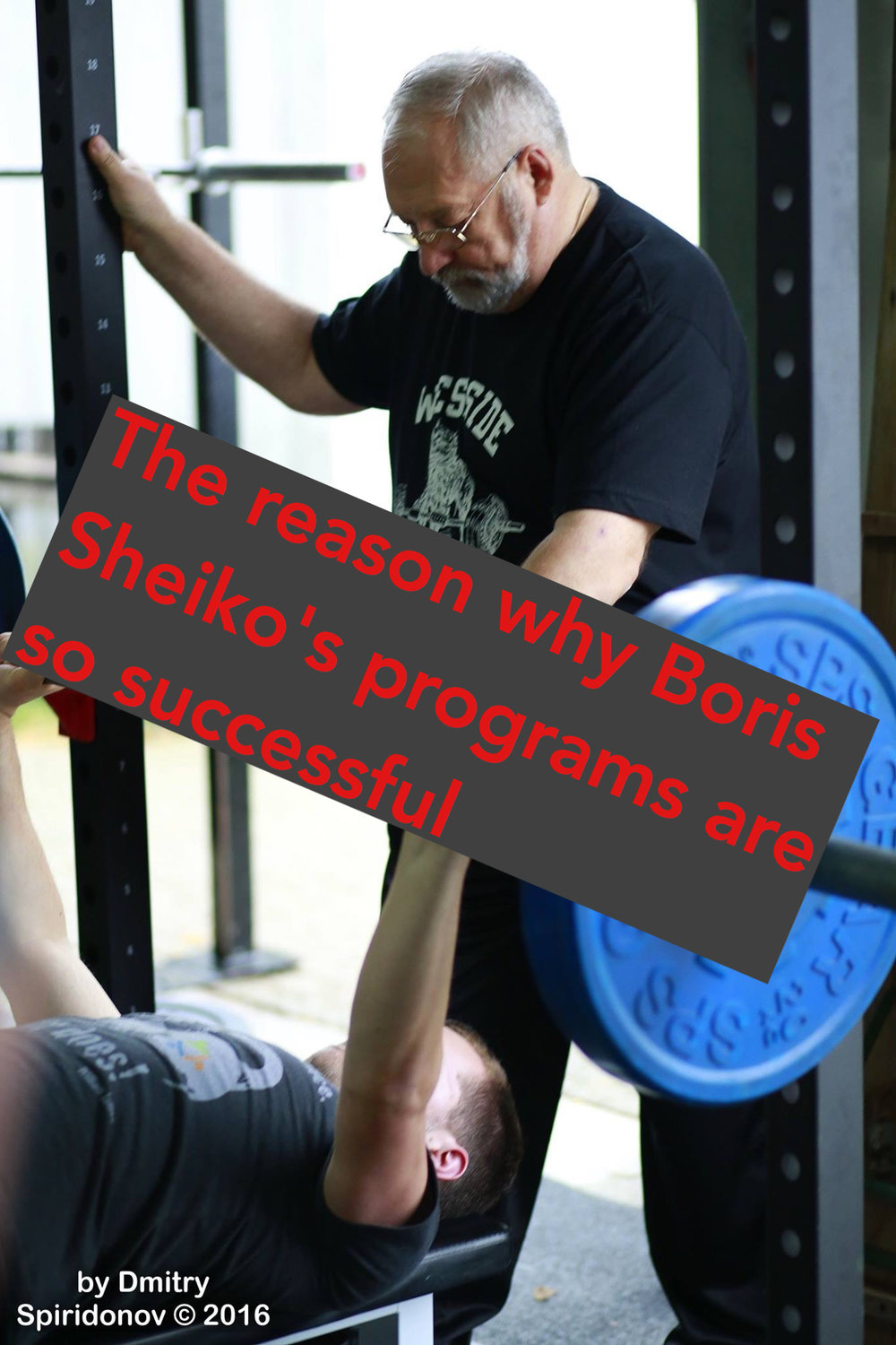 The reason why Boris Sheiko's programs are so successful