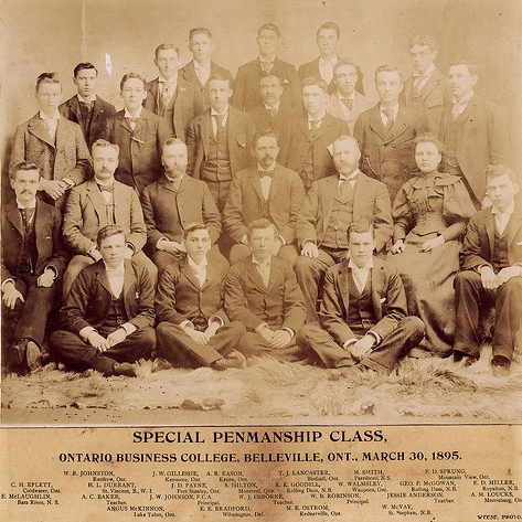 Special Penmanship Class of 1985