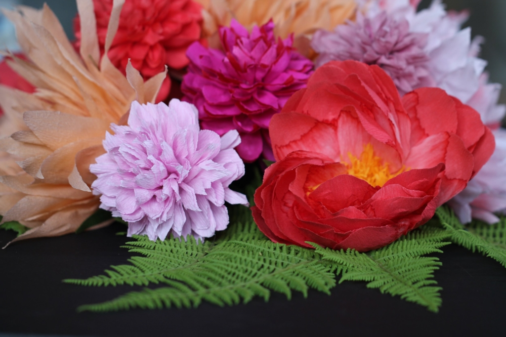 Florabeane Paper Flowers