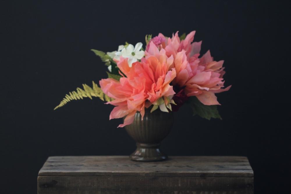 Florabeane Paper Dahlias