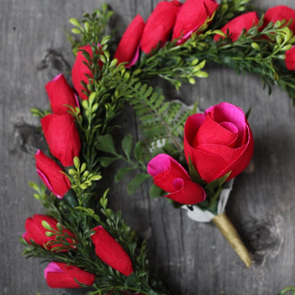 Florabeane Paper Roses