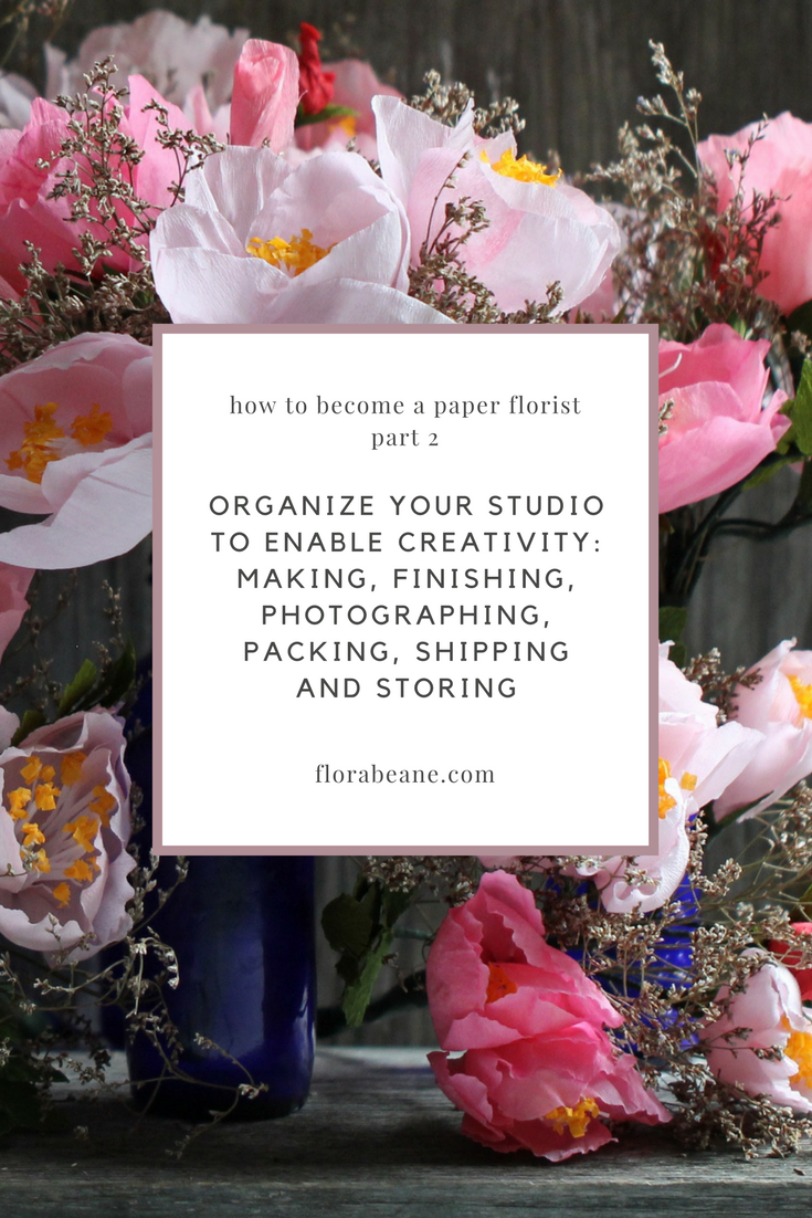 Part 2 of Florabeane's 10-Step Guide on How to Become a Paper Florist