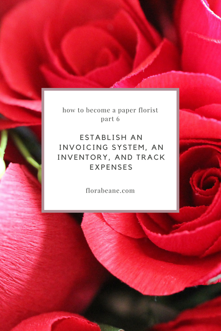 Part 6 of Florabeane's 10-Step Guide on How to Become a Paper Florist