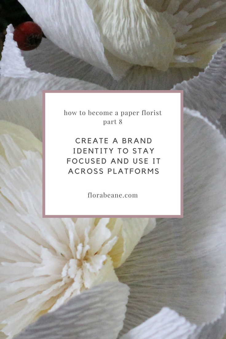 Part 8 of Florabeane's 10-Step Guide on How to Become a Paper Florist