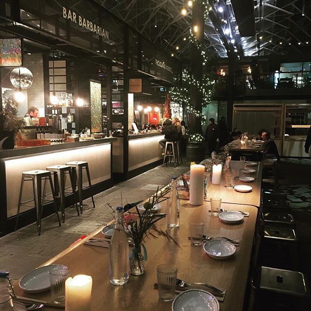 Thanks to everyone that came to our supper last night. Was great to showcase our wares to an awesome group. Thanks to @rebelrebele8 for the flowers and @happyendingsldn for the pud. BTW, this was a photo beforehand obvs 👍. #oldspitalfieldsmarket #thekitchens #drinkbarbarian #supperclub #barbarbarian