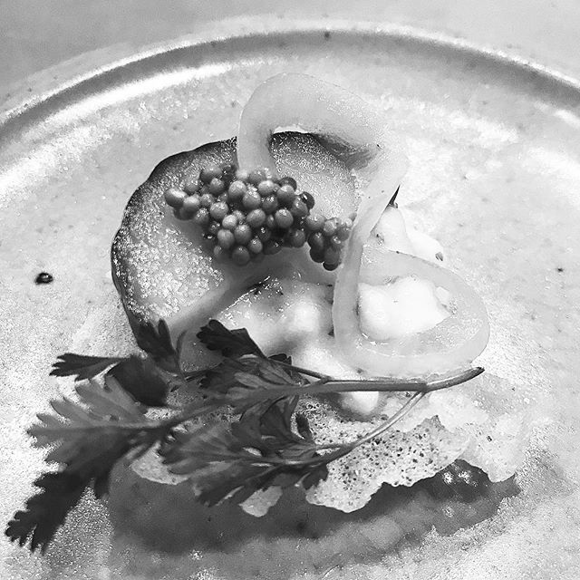 @sunil_bhangu smoked haddock so awesome and gorgeous plates from @salutations.studio many thanks 🥂🥢🎣❌❌❌❌❌❌❌