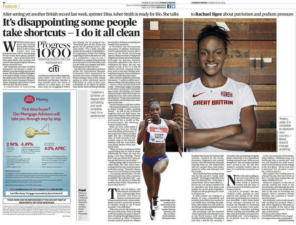 Dina Asher Smith interview