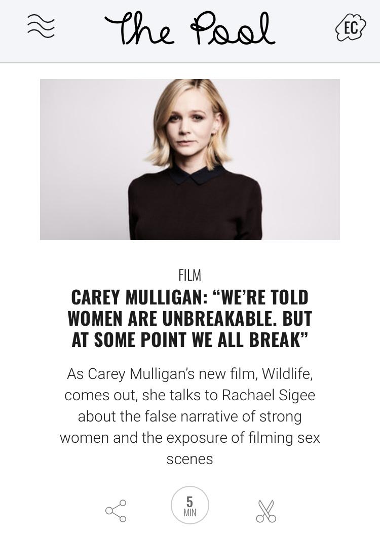 Carey Mulligan interview