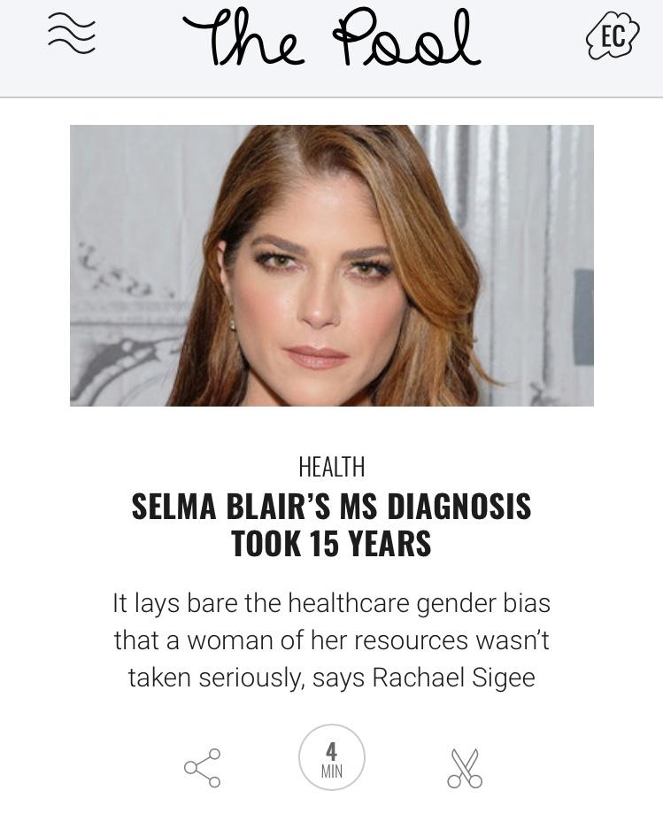 Selma Blair MS opinion piece