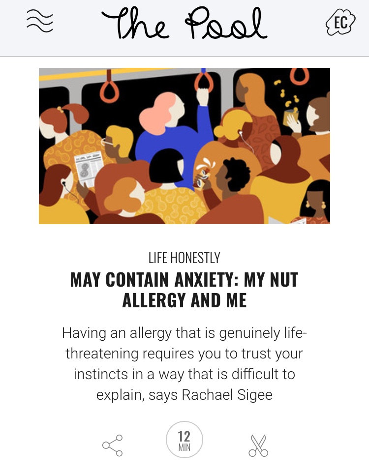 Nut allergy feature