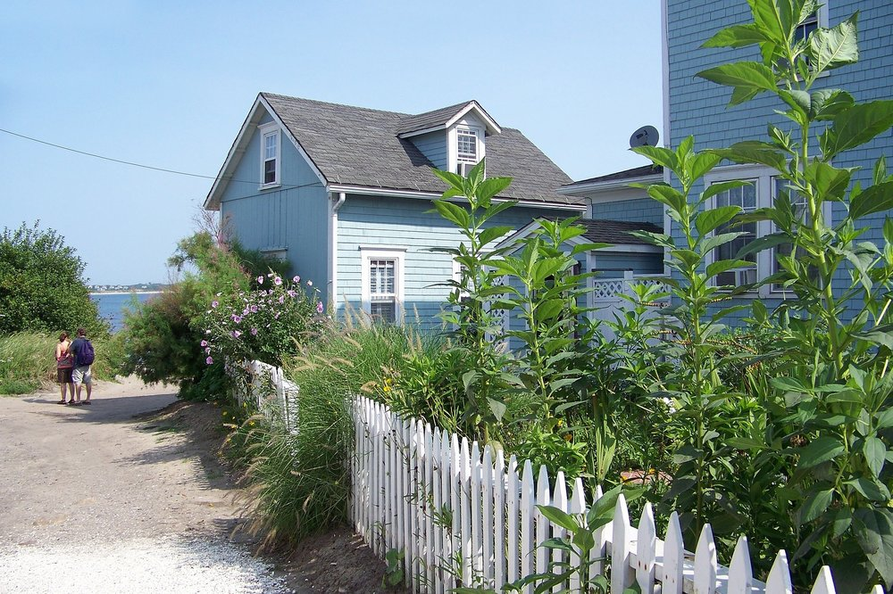 And for weekends,here's your beachfront rental!Summer in Rhode Island is magic.