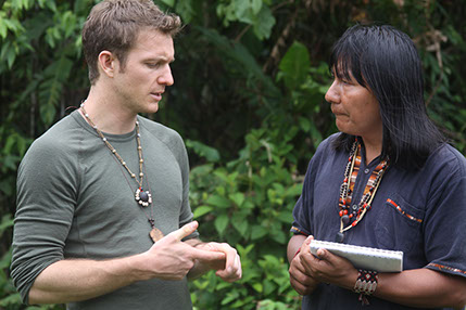 Runa Founder and Brown University alumnus Tyler Gage gathers inspiration in the Amazon.