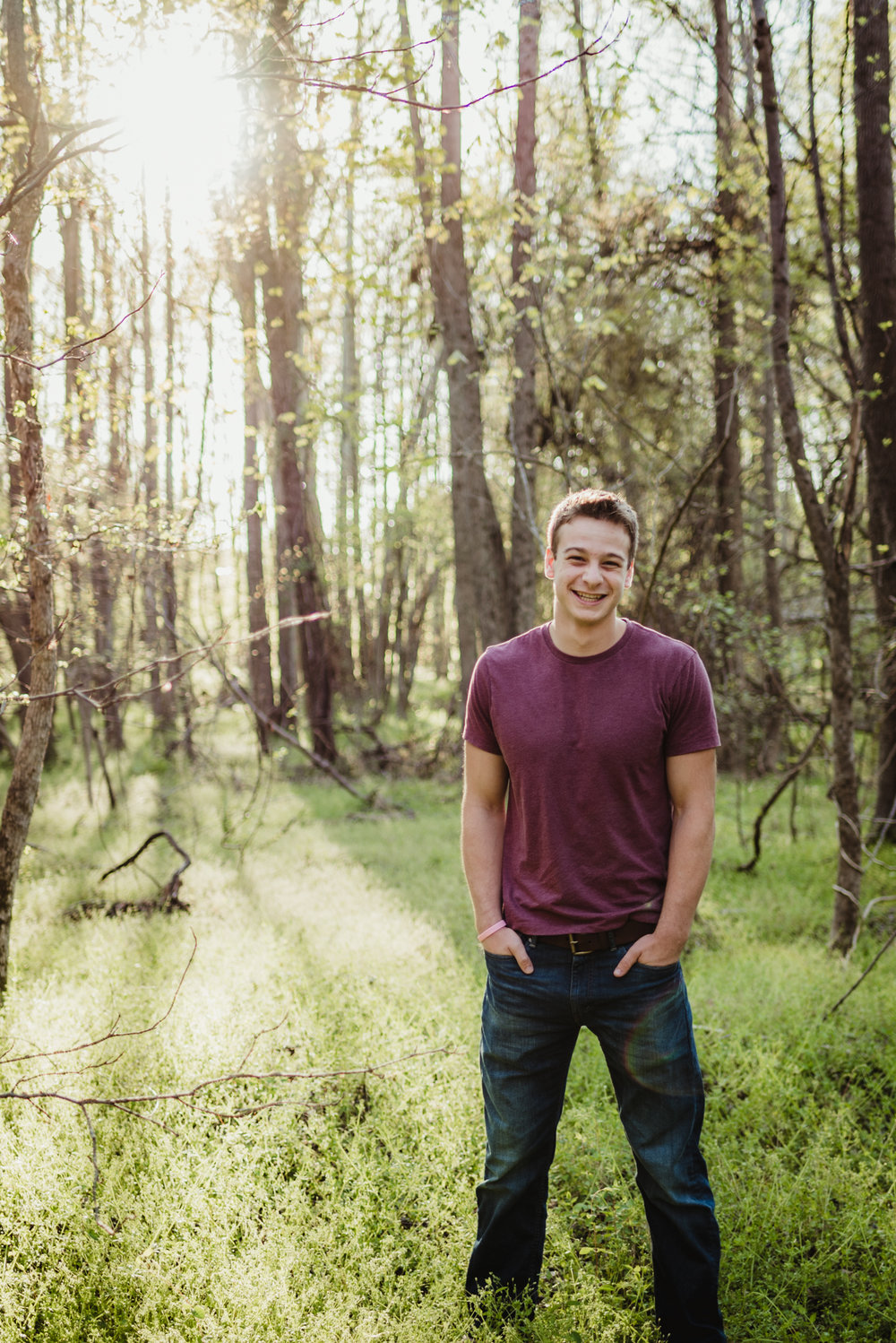 Raleigh Senior Session, Luke