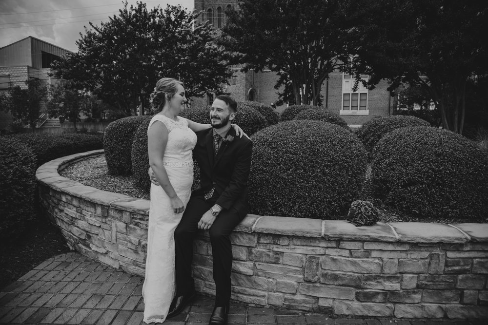 Raleigh Wedding, DoubleTree Hotel, Megan and Adam