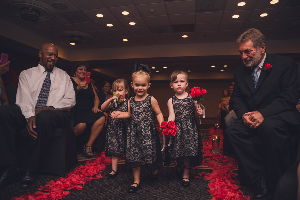 Raleigh Wedding, DoubleTree Hotel, Megan and Adam, bridesmaids