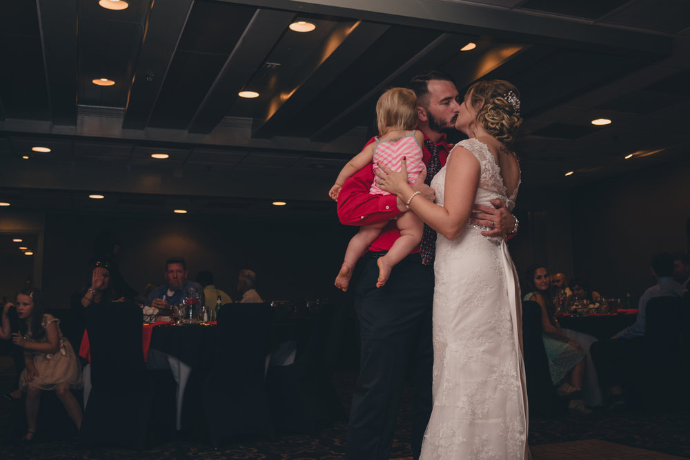 Raleigh Wedding, DoubleTree Hotel, Megan and Adam, first dance