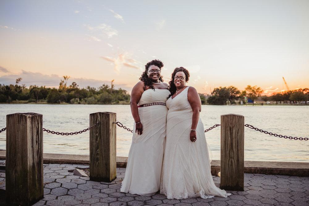Wilmington NC wedding, Teresa and Nephitearya