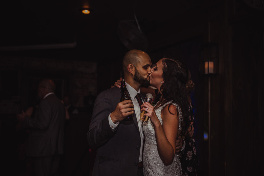 The Architect Bar and Social House, Raleigh Wedding photography, reception, Martha and Sid