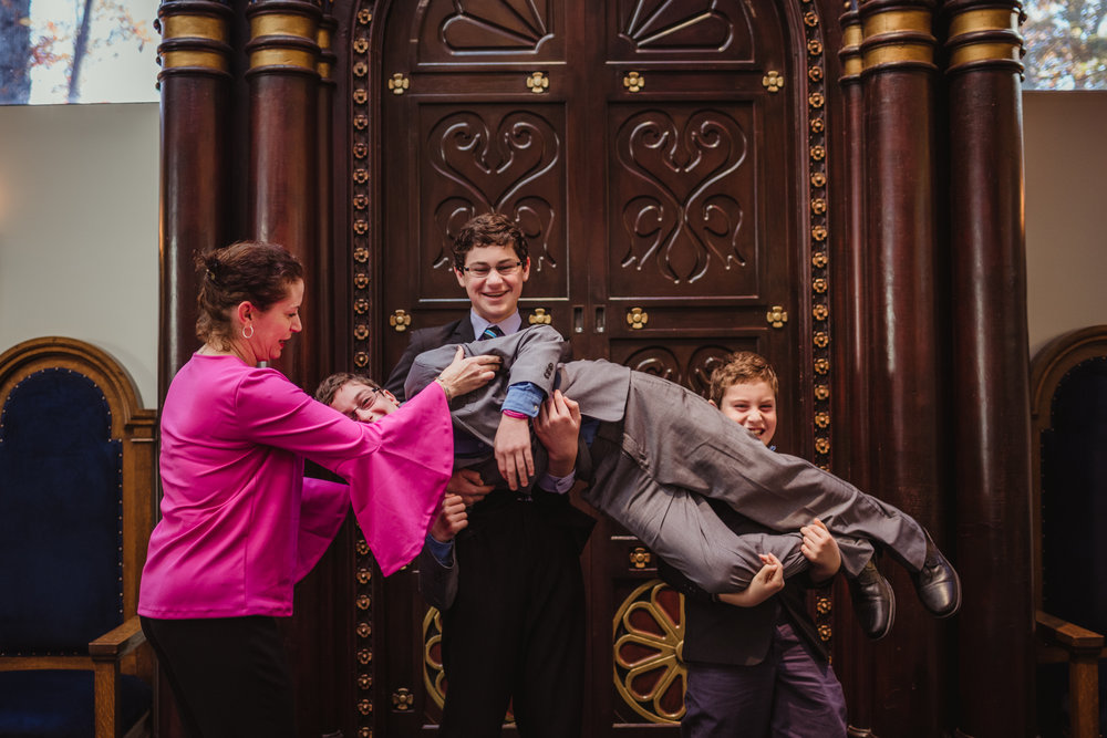 Brothers-being-silly-before-the-mitzvah-ceremony.jpg