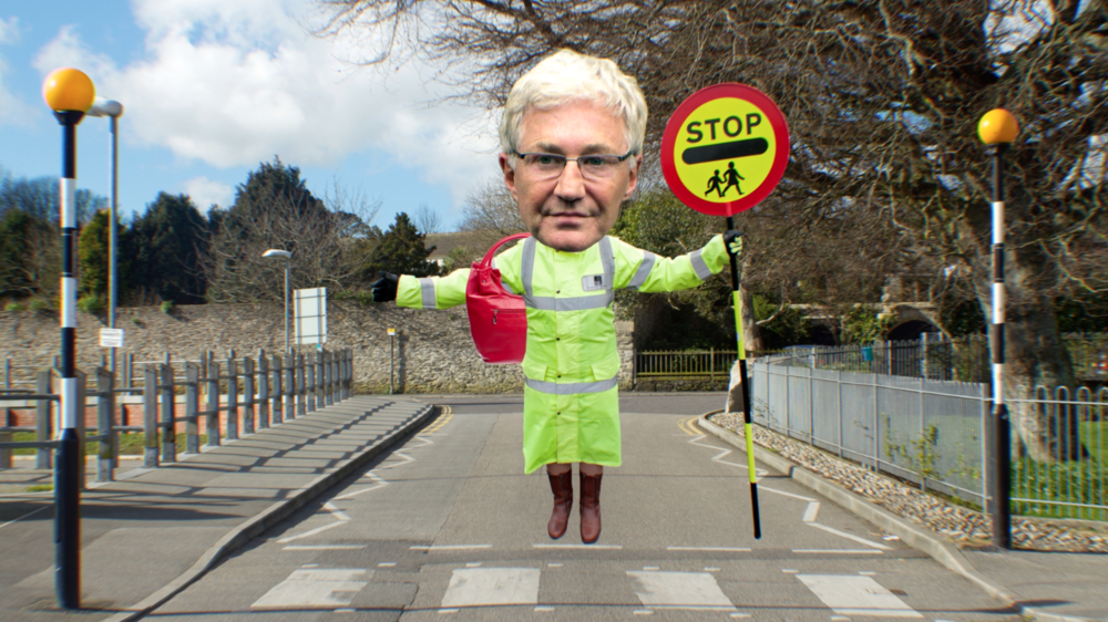 PAUL O GRADY IS A LOLLIPOP LADY