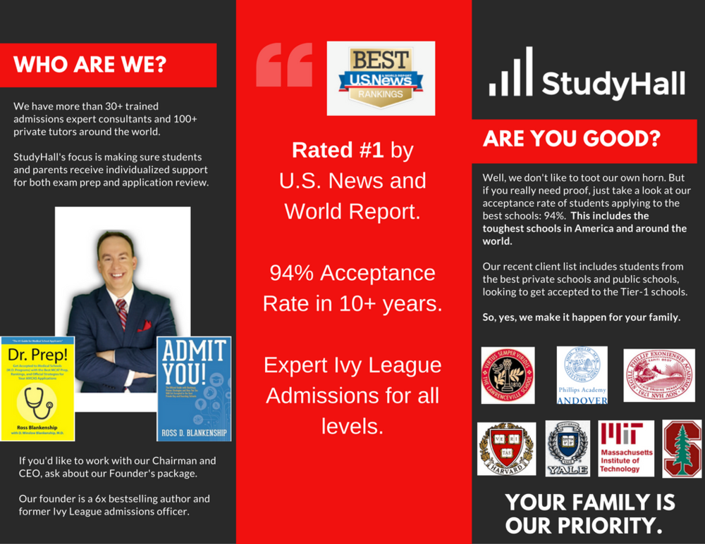 Admissions Consulting for Ivy League Schools and Colleges.
