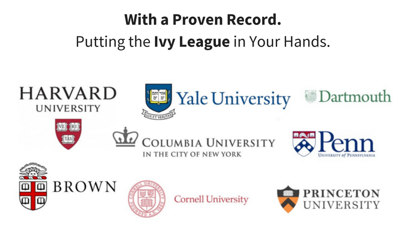 Get Accepted to Ivy League Colleges.
