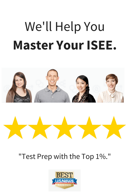 ISEE Prep Courses with Instructors who make a difference.