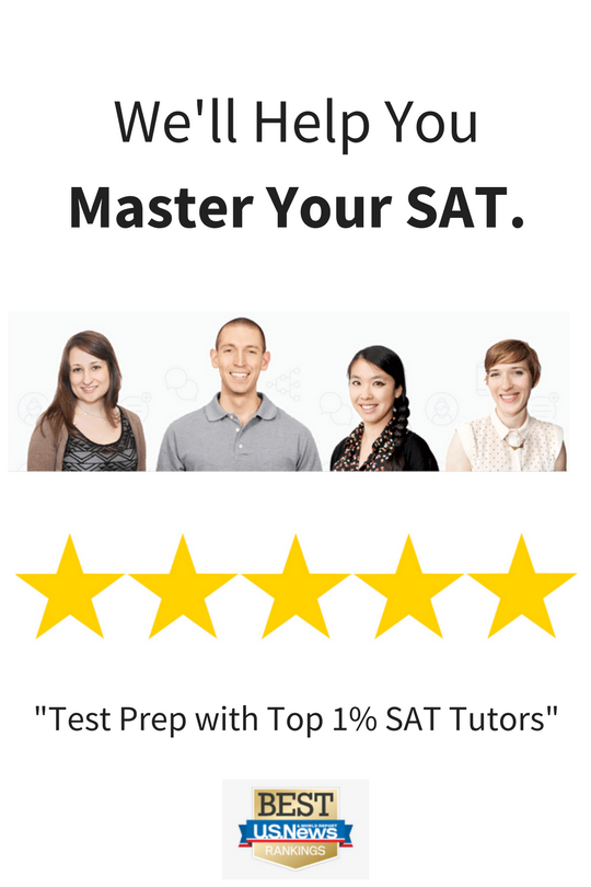 SAT Prep Tutoring for the College Board's SAT exam.