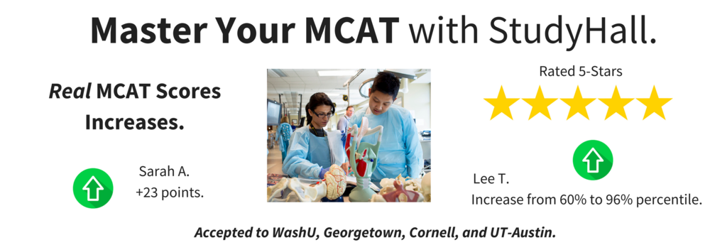 MCAT Prep Reviews.  Real Students + Increased Scores = Medical School Admissions.