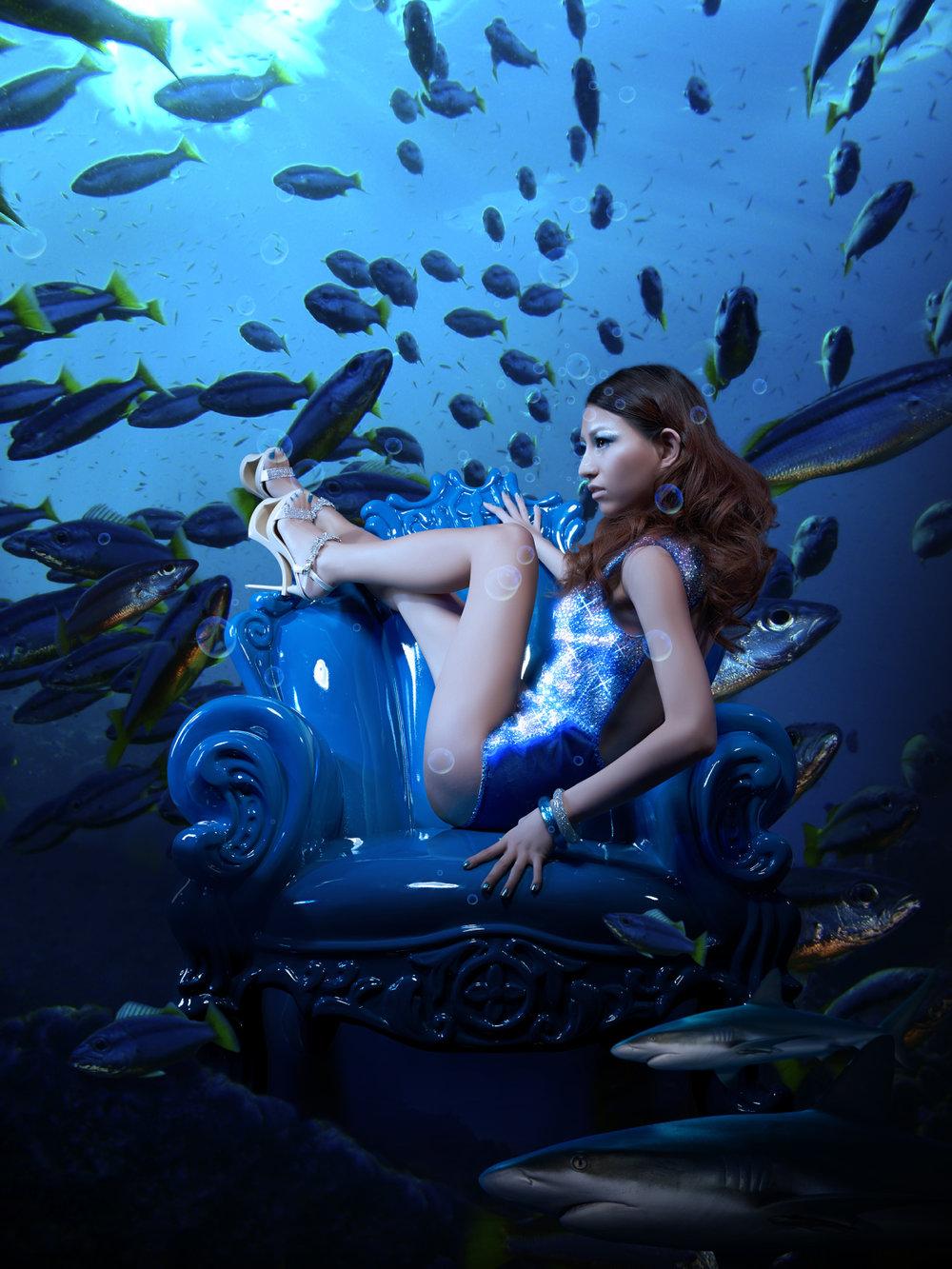 Fish   邝书伃  – 造型设计师