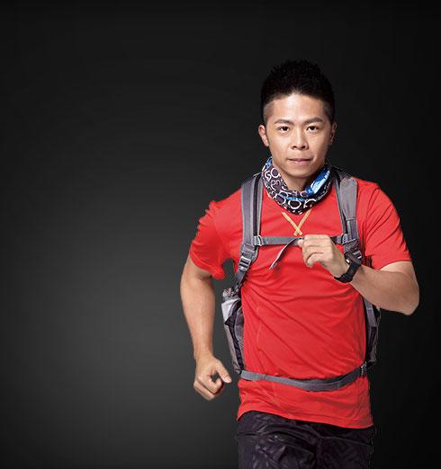 林义杰  – 世界超马跑者