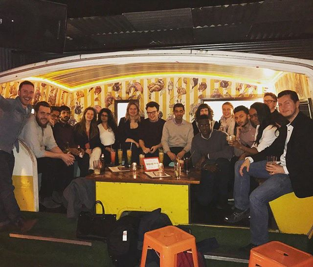 It was sad to see Imran go, but we had fun taking him for mocktails for his leaving do! 🍹🍹🍸🍸 #shoreditch #oldstreet #cocktails #mocktails #technology #accounting #accounts #bar #epic #tech