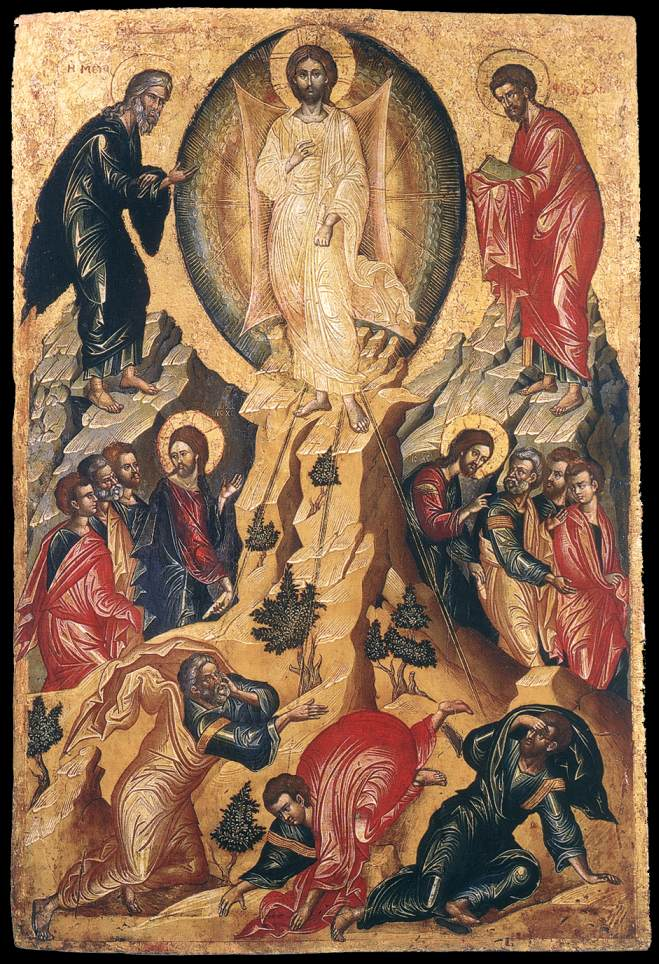 Transfiguration of Christ, unknown icon painter, c. 1550