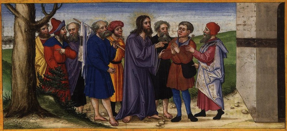 Healing of the blind man of Jericho