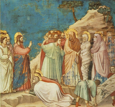 The Raising of Lazarus, Giotto (1266-1337)