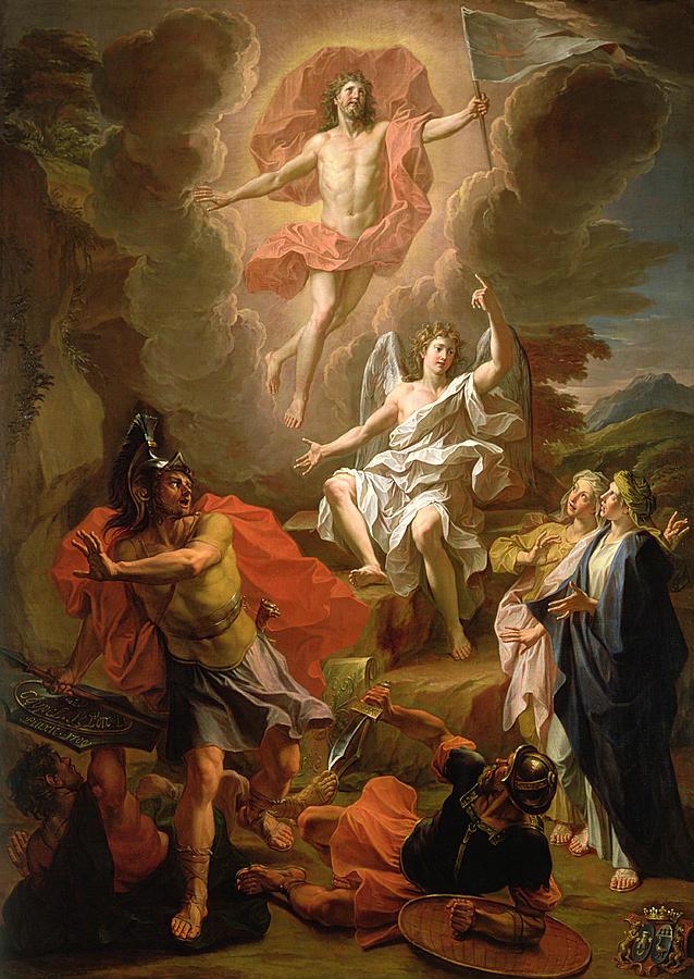 Resurrection of Christ, Noel Coypel.