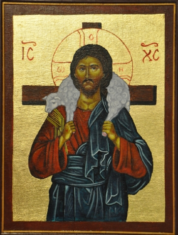 Christ the Good Shepherd, Photo posted by Ted at https://www.flickr.com/photos/frted/6610276577/in/photostream/. License to share: https://creativecommons.org/licenses/by-sa/2.0/