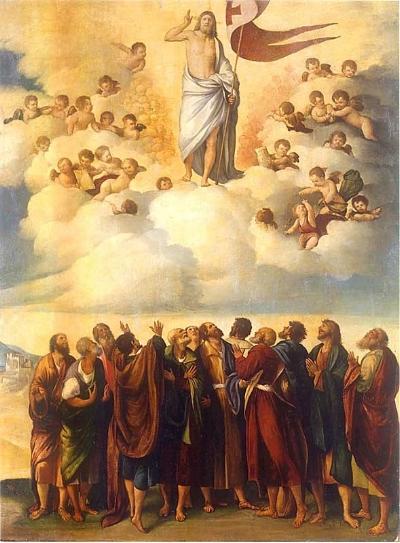 Ascension of Christ, Dosso Dossi, (1490-1542). Public Domain.