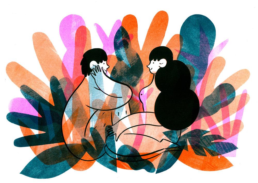 Hattie Clark - Leafy Lovers.jpg