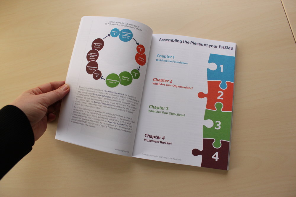 Book Design, Canadian standards Association