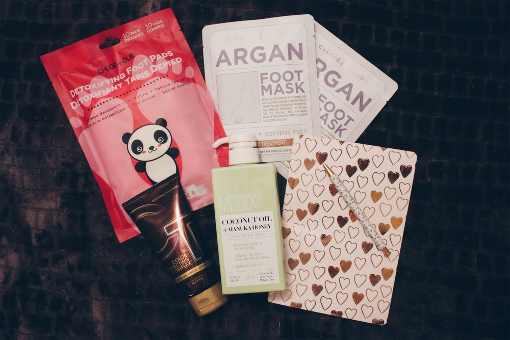 TREAT YO SELF  - (because who doesn't love to pamper themselves?)