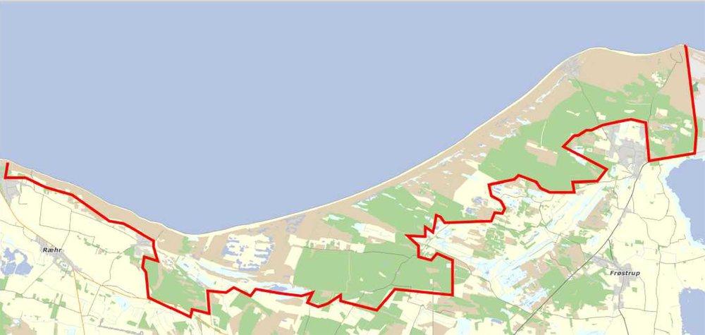 Forslag til udvidelse af Nationalpark Thy