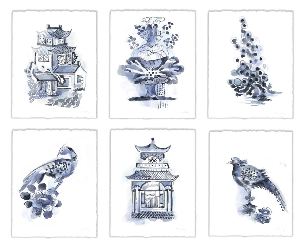 Chinoserie Prints -