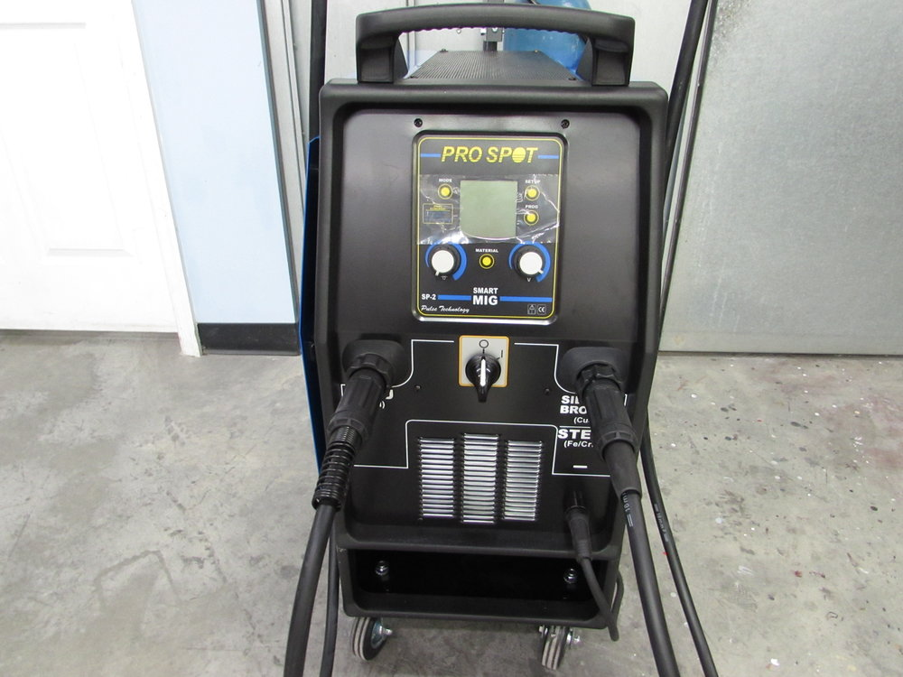 Pro Spot Aluminum And Bronze Slicone Welder