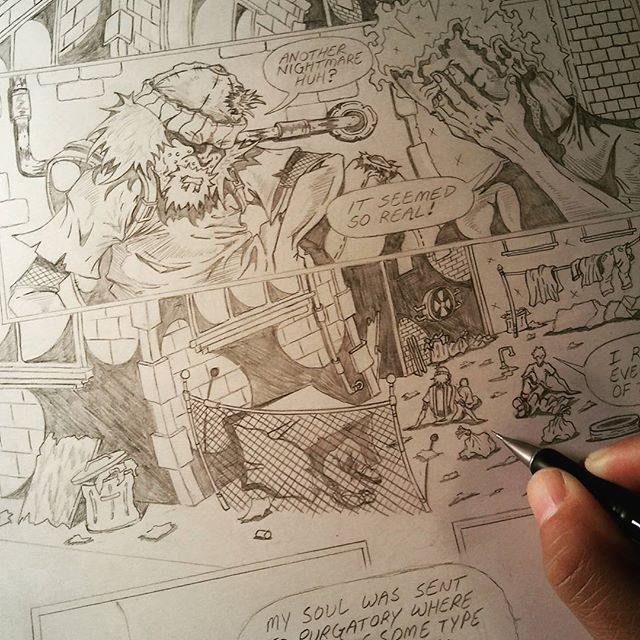 "Working on ""Bluey Kool"" issue #2 #blueykool"