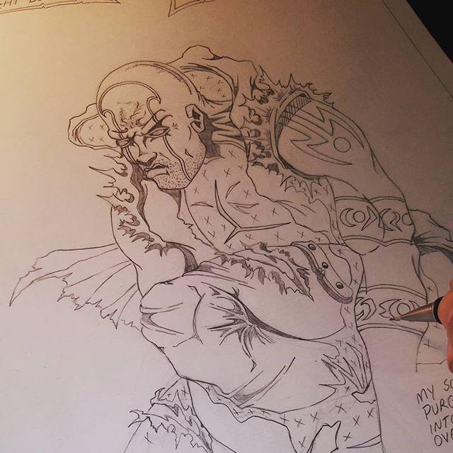 """Working on """"Bluey Kool"""" issue #2 #blueykool"""