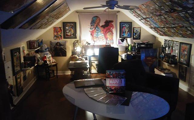 Soul City Comics studio updated! #blueykool
