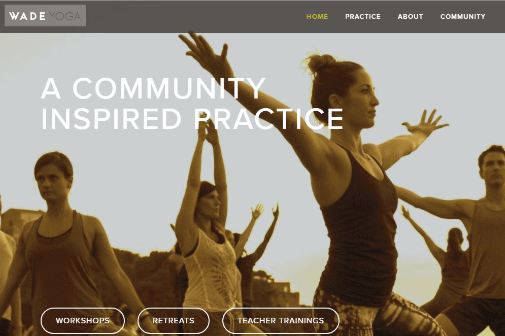 Wade Yoga Events and Community